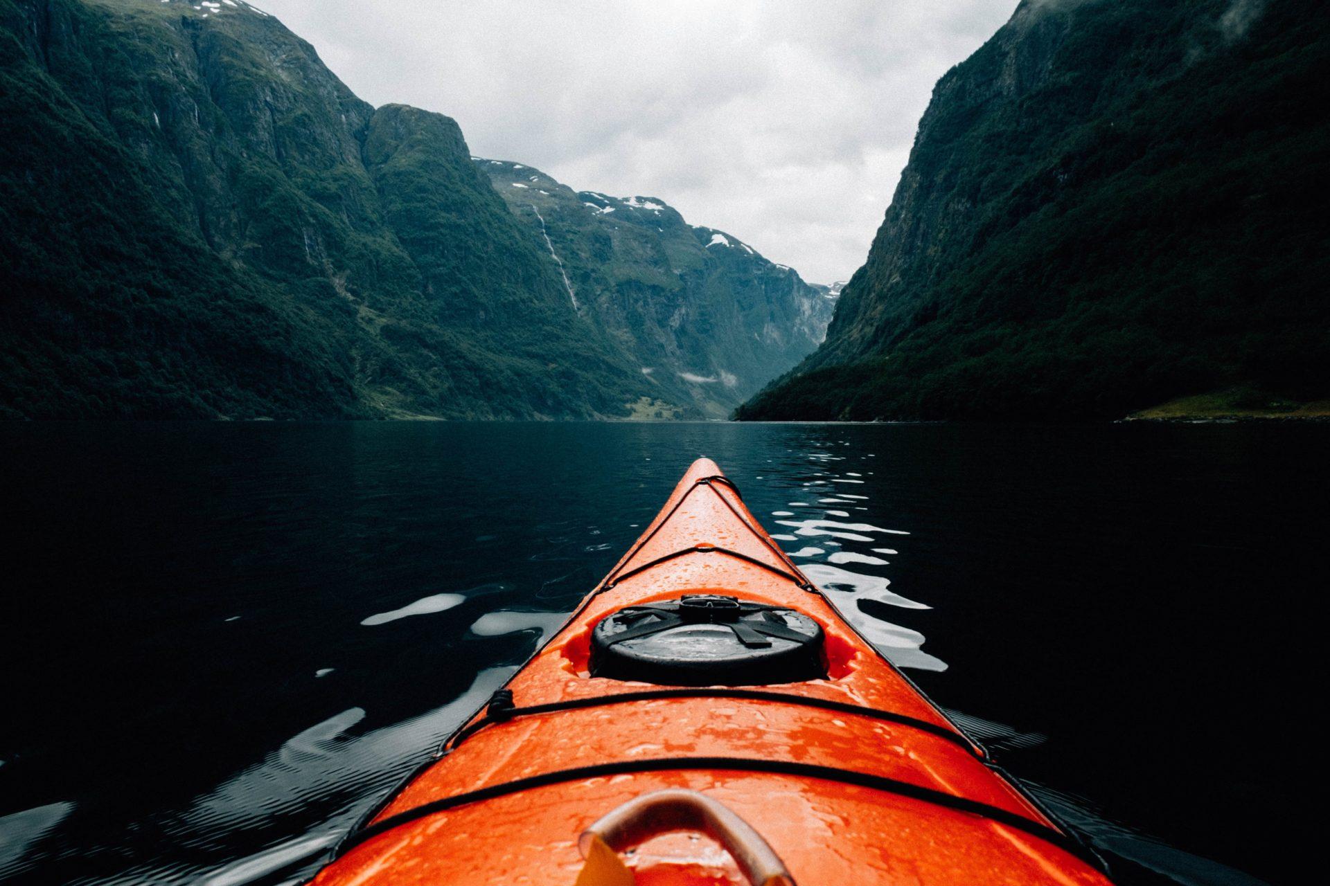 Kayak on the Open Water