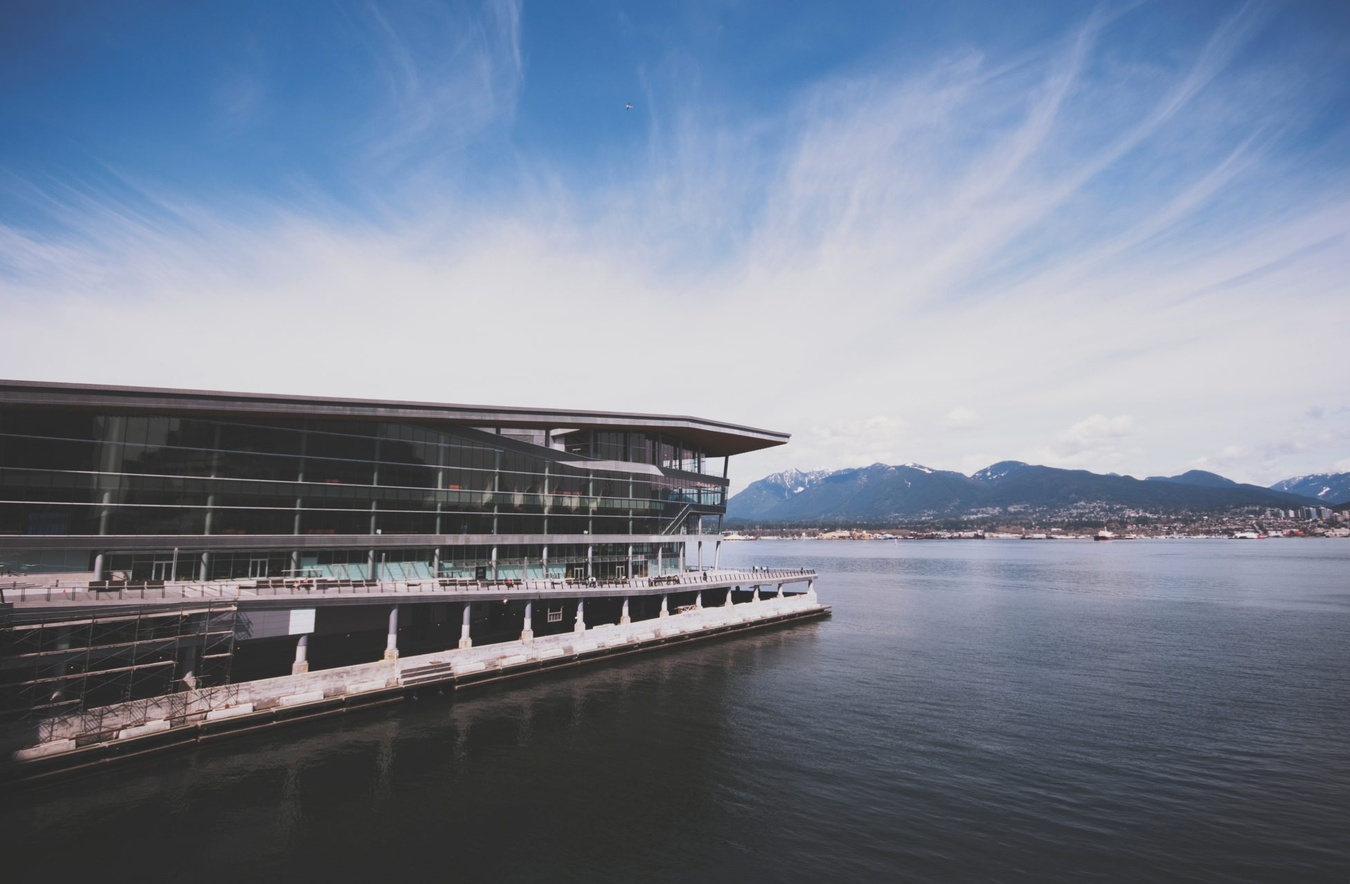 Conference center located right on the water