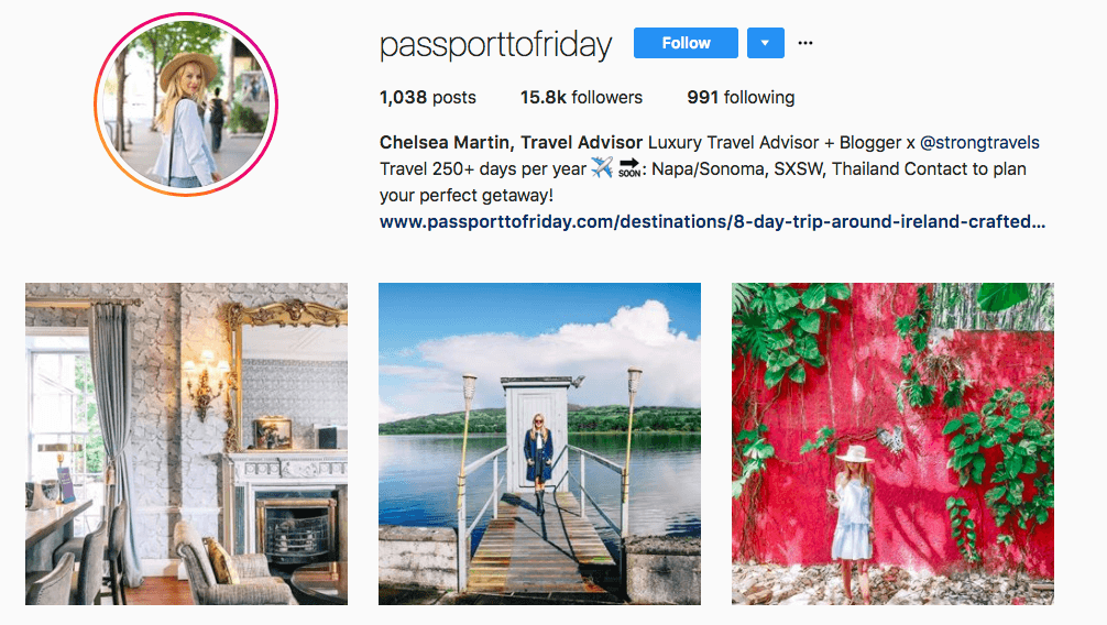passporttofriday Instagram profile
