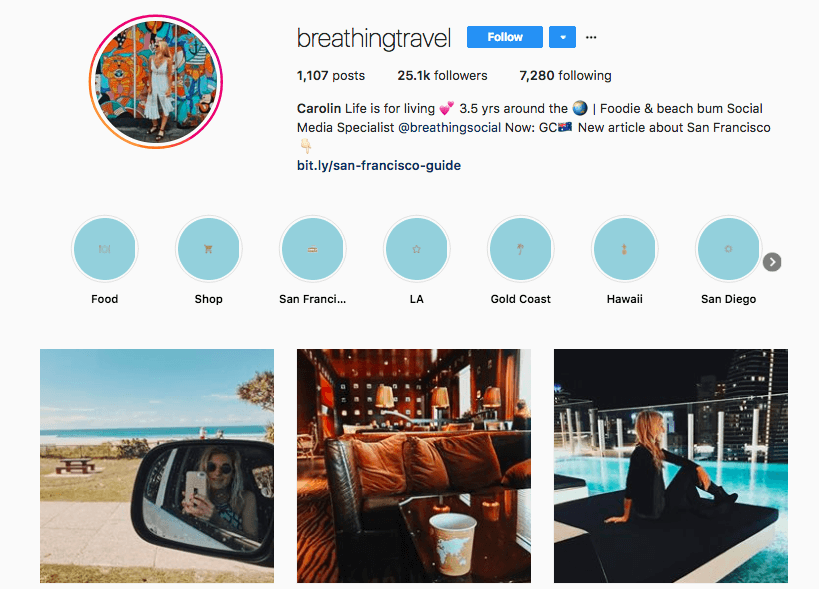breathingtravel Instagram profile