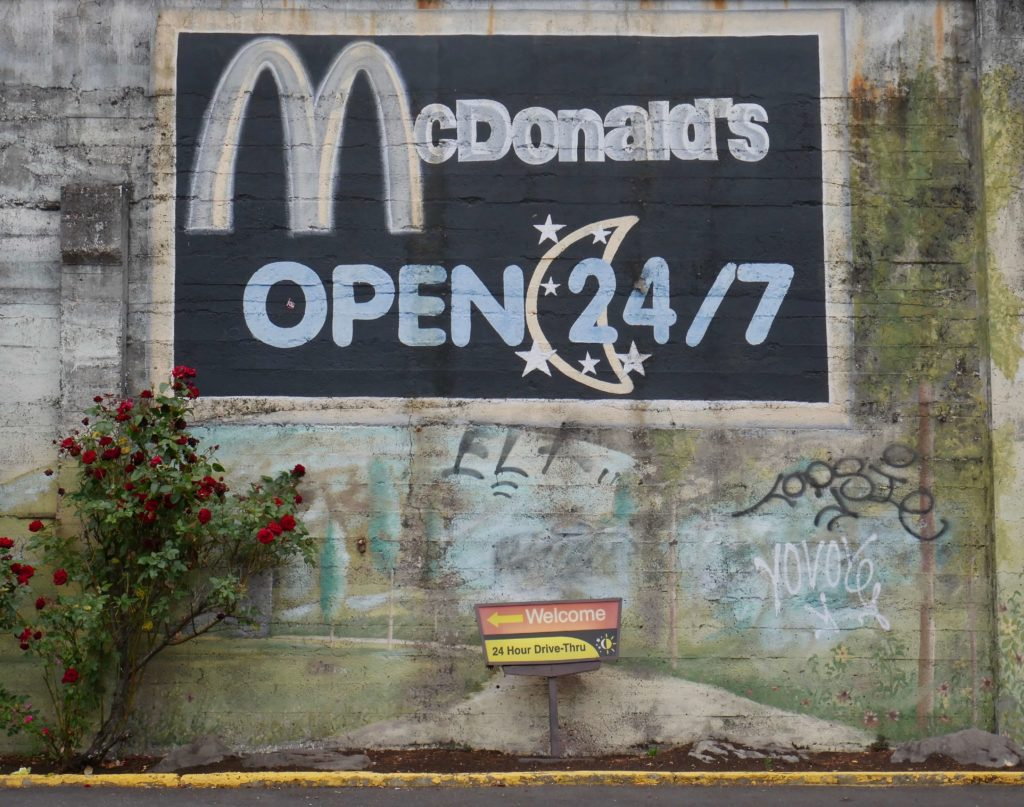 McDonalds Open 24-7 Photo