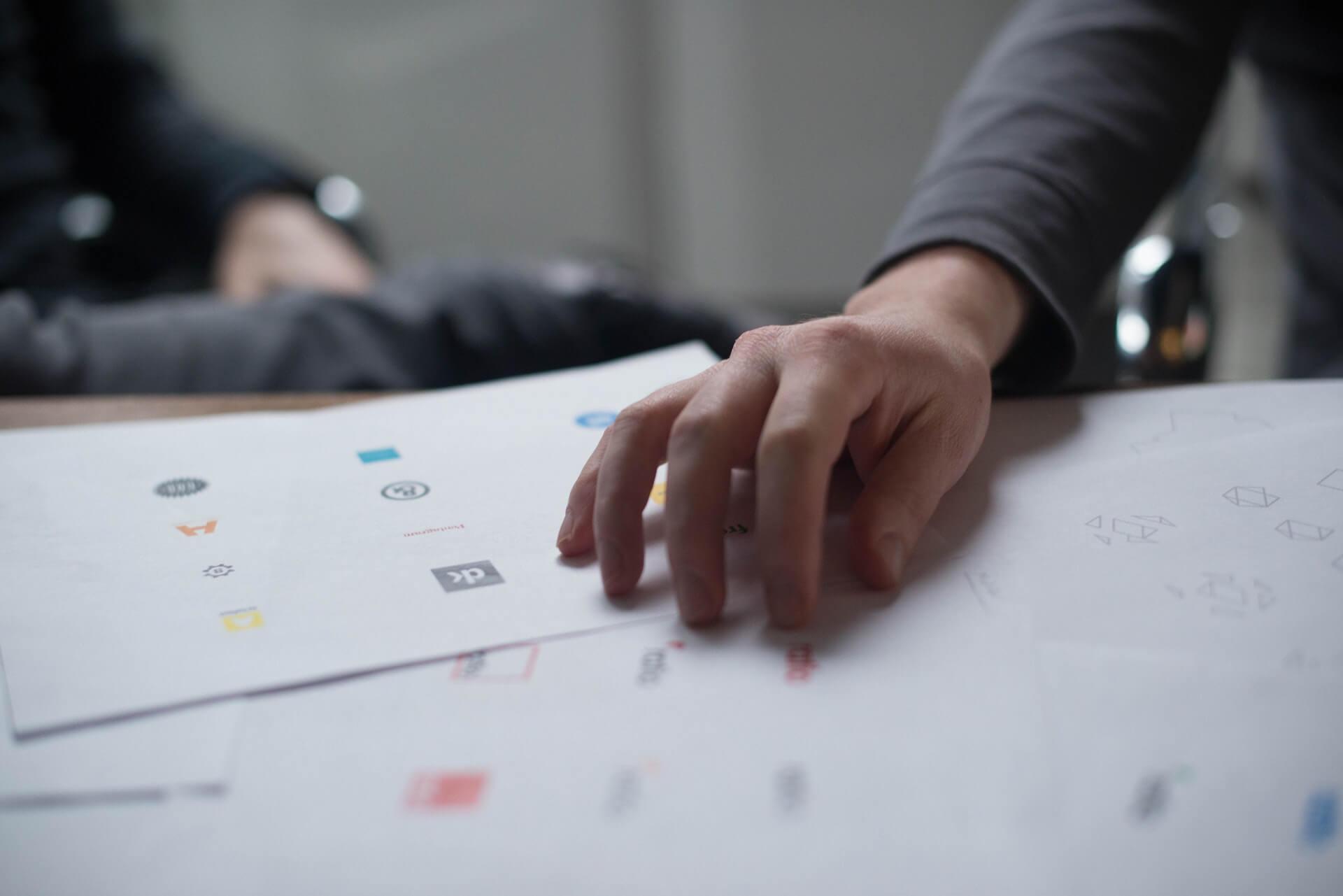 Designer Giving Critique