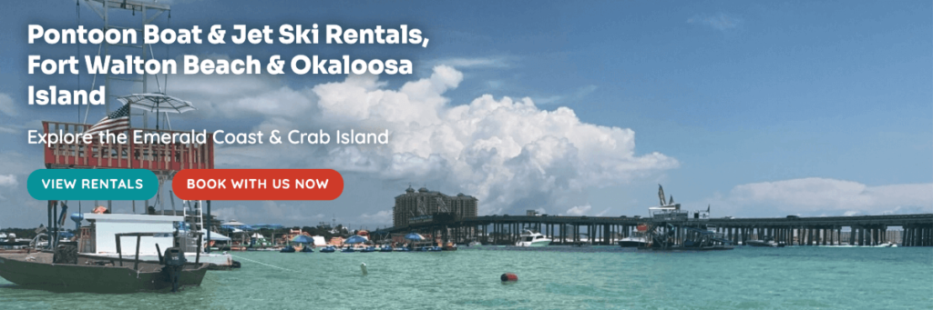 Rentals in Florida with Crab Island Watersports