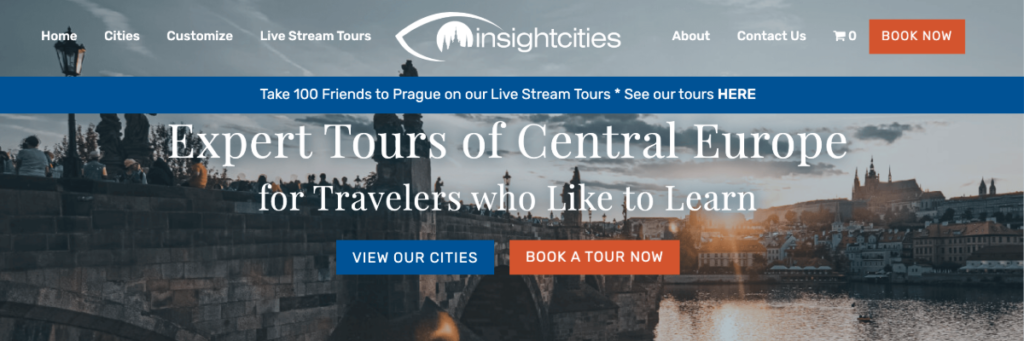 Insight Cities prefer to target their preferred audience
