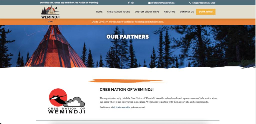Weimindjis partners page.