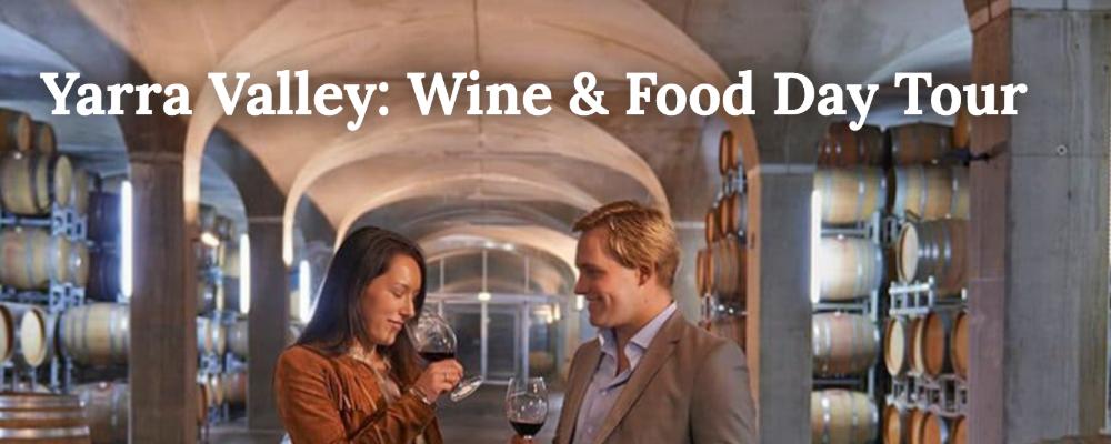 Screenshot of Hero image used on VineTrekker website showing happy couple enjoying winetasting